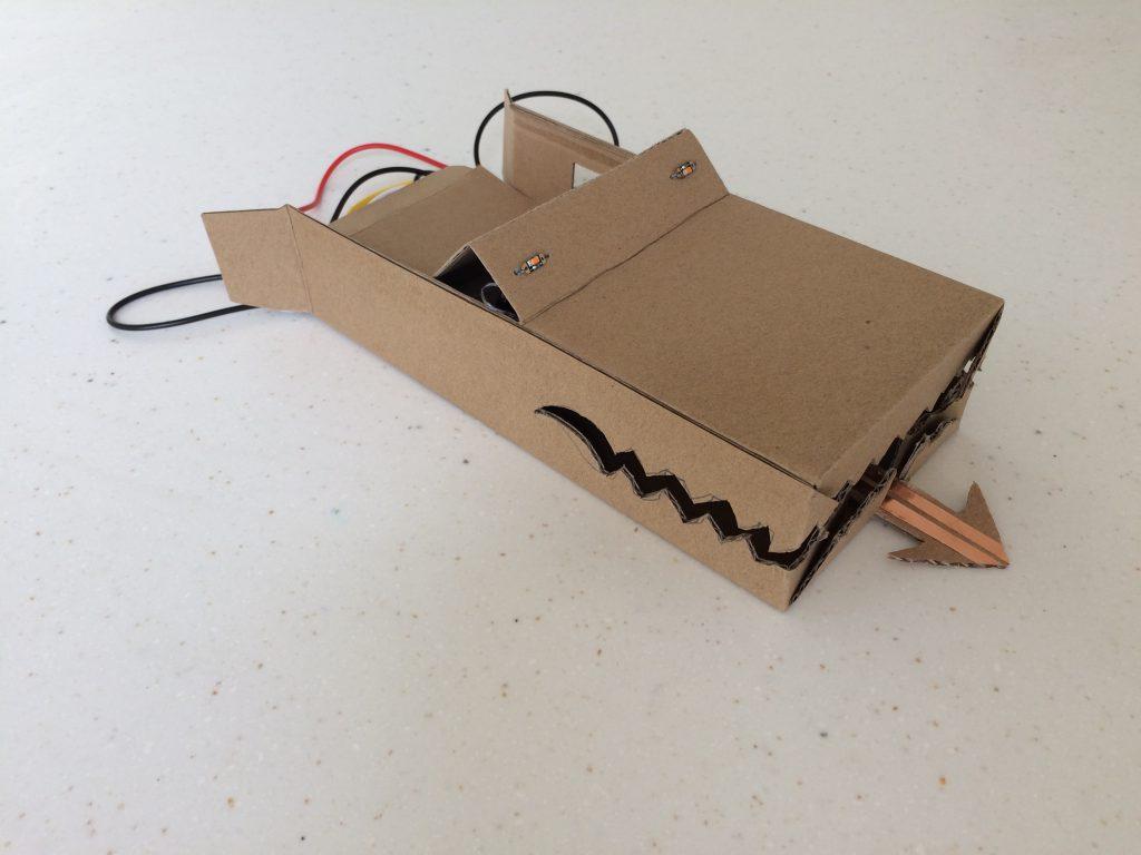 microbit model dragon head