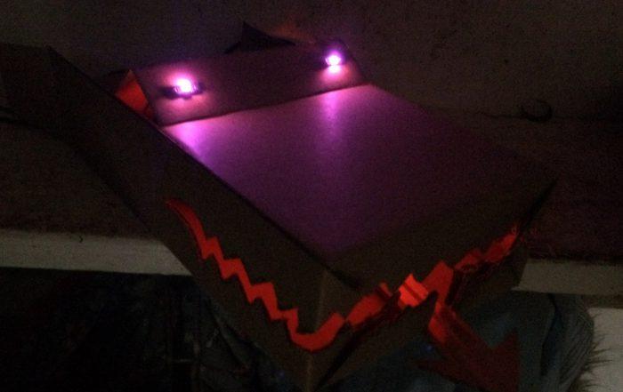 microbit glow dragon model