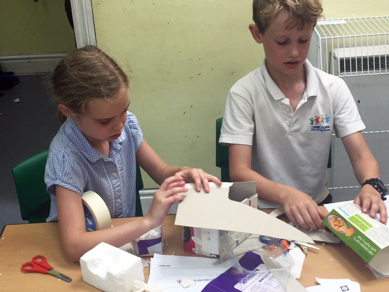 Building UV shelters