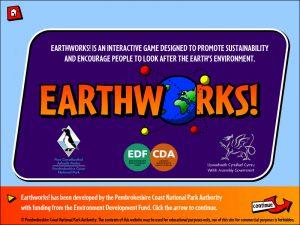 Earthworks Title Screen
