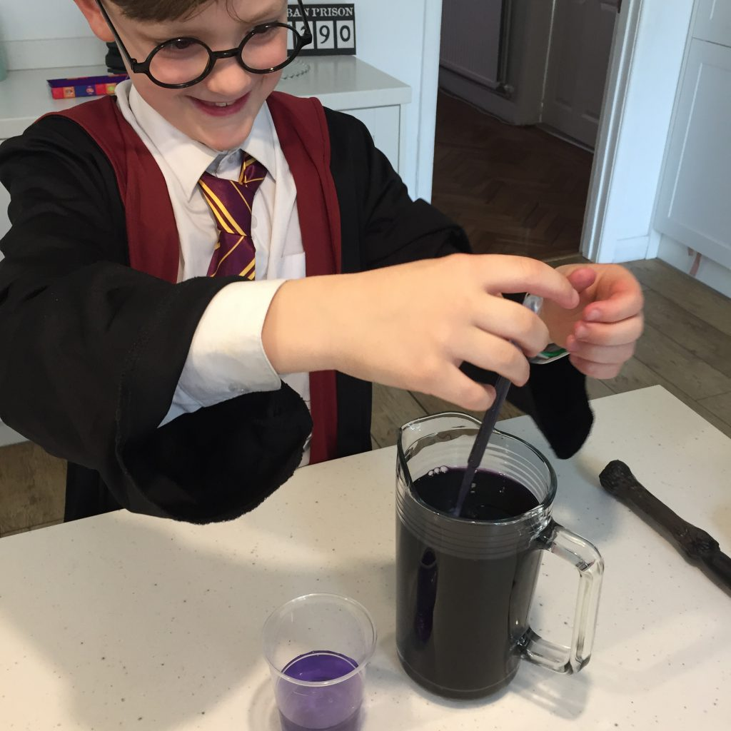 Mixing potions